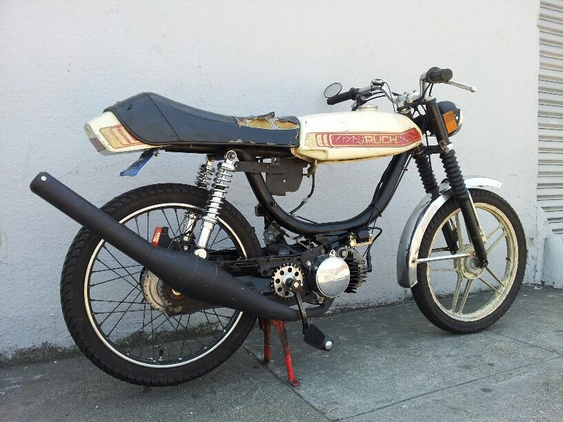 Custom moped 16