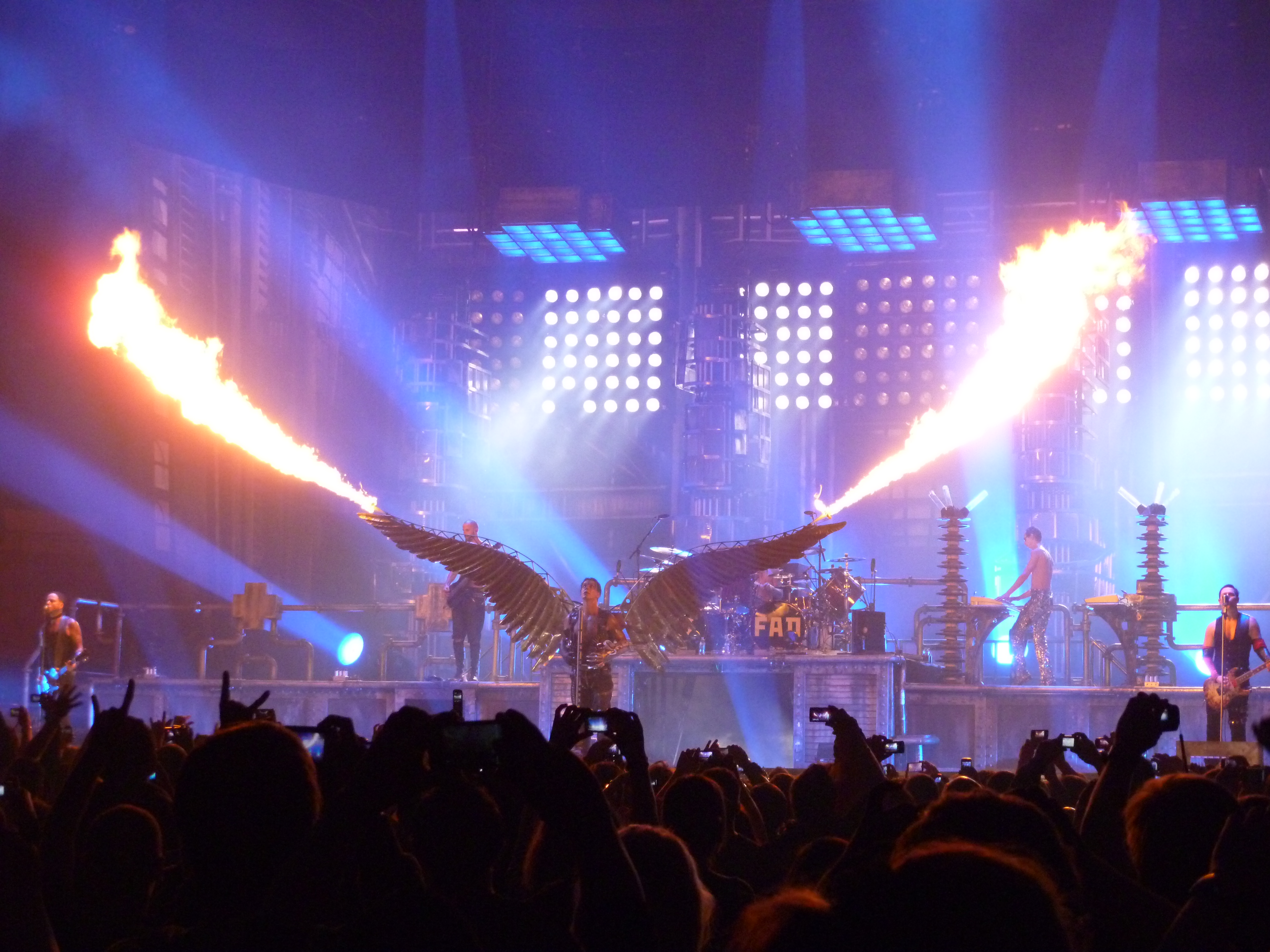 Filerammstein Live At Madison Square Gardenjpg Wikimedia