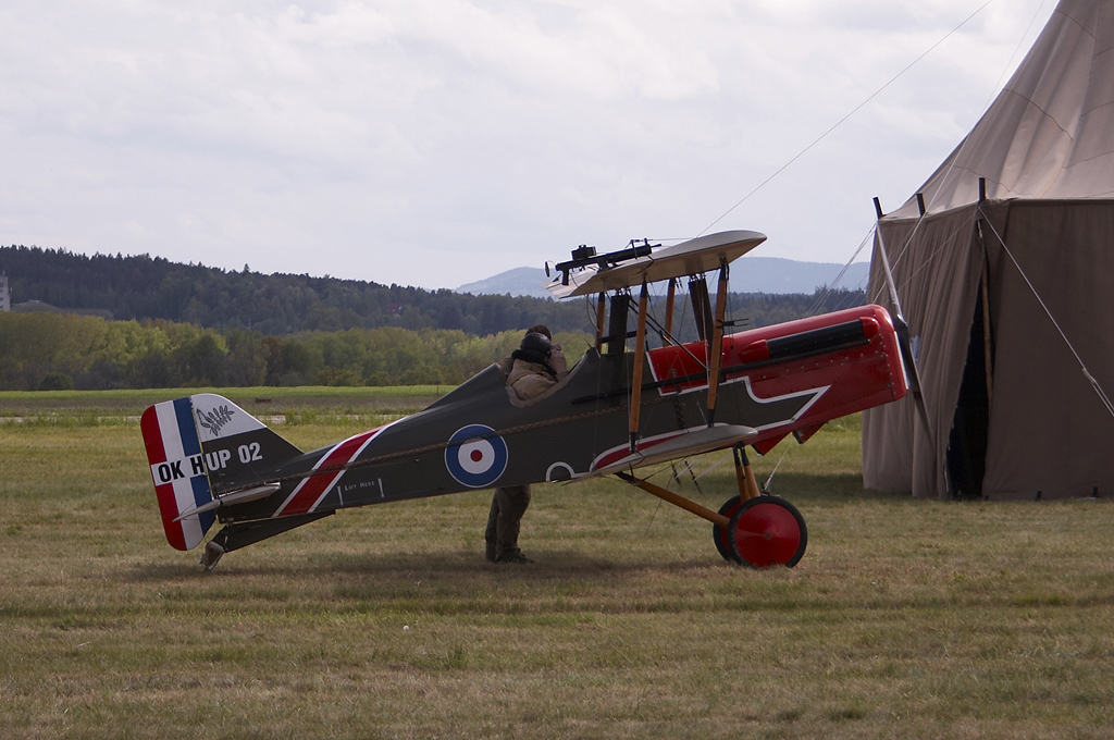 Soubor royal aircraft factory s e 5 replica
