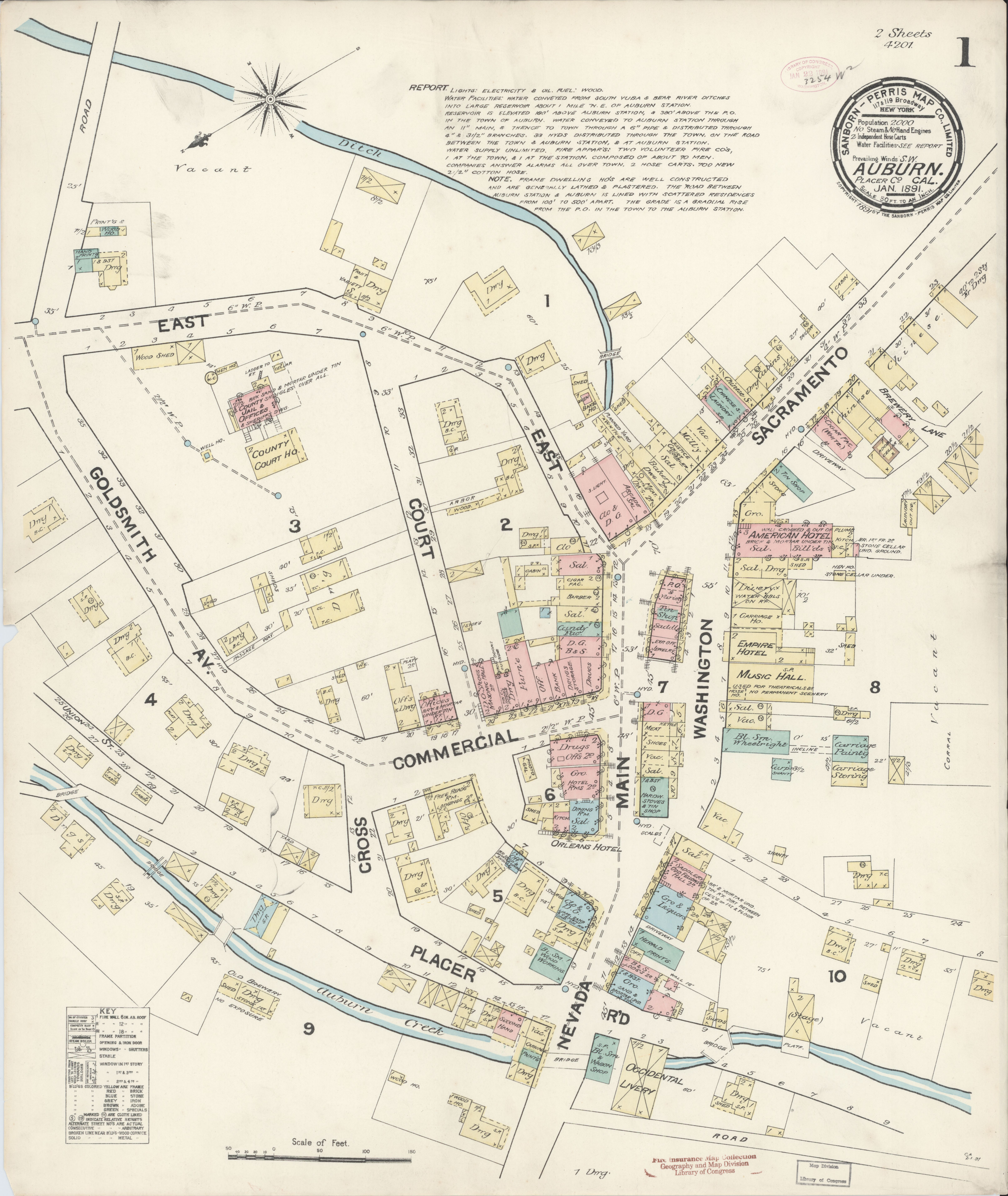 File:Sanborn Fire Insurance Map from Auburn, Placer County ...