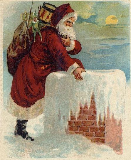File:Santa Coming Down the Chimney Drawing.jpg