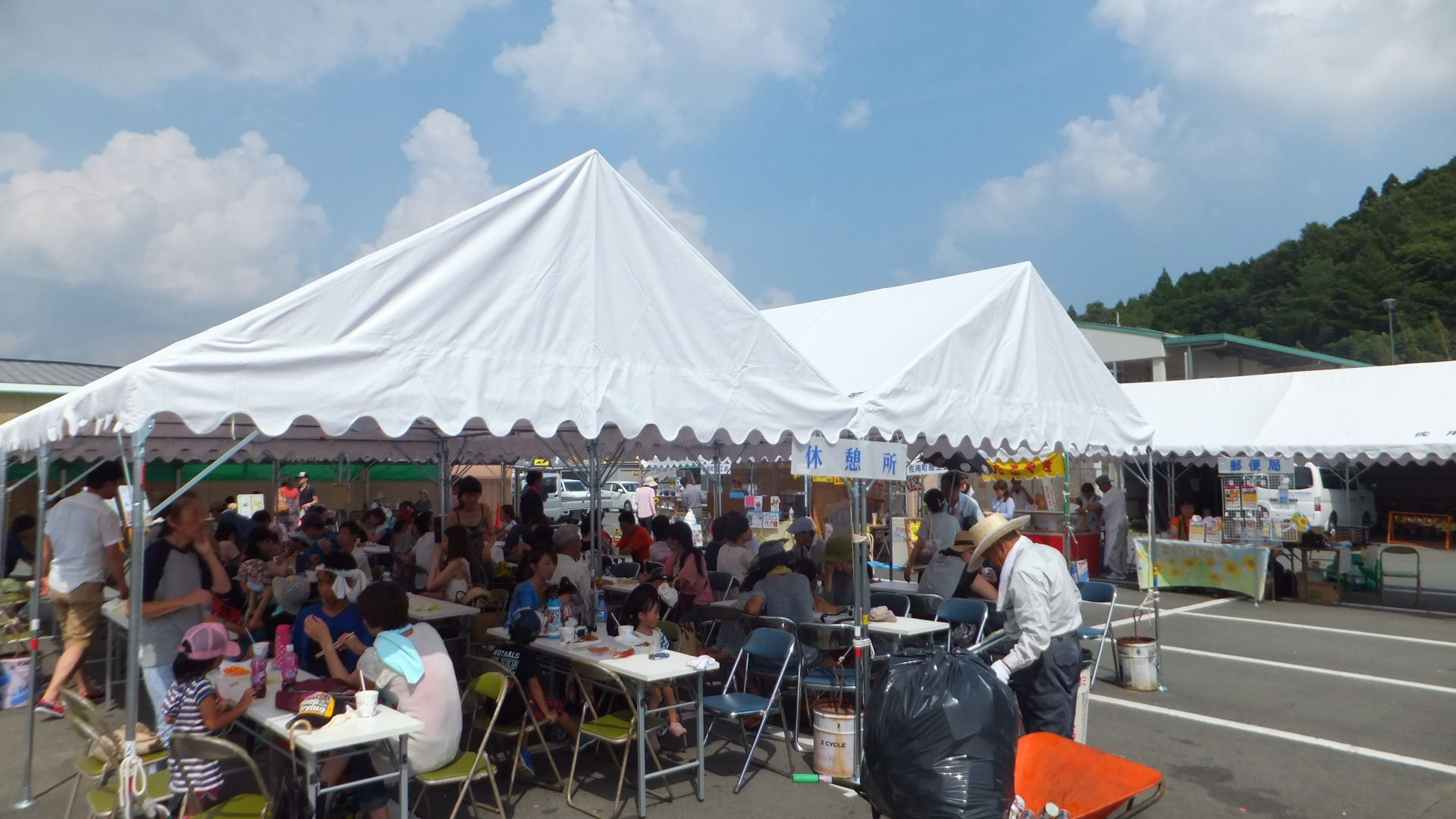 FileSayo-town Nanko Sunflower Festival Bussan tent village in 2014-7- & File:Sayo-town Nanko Sunflower Festival Bussan tent village in ...