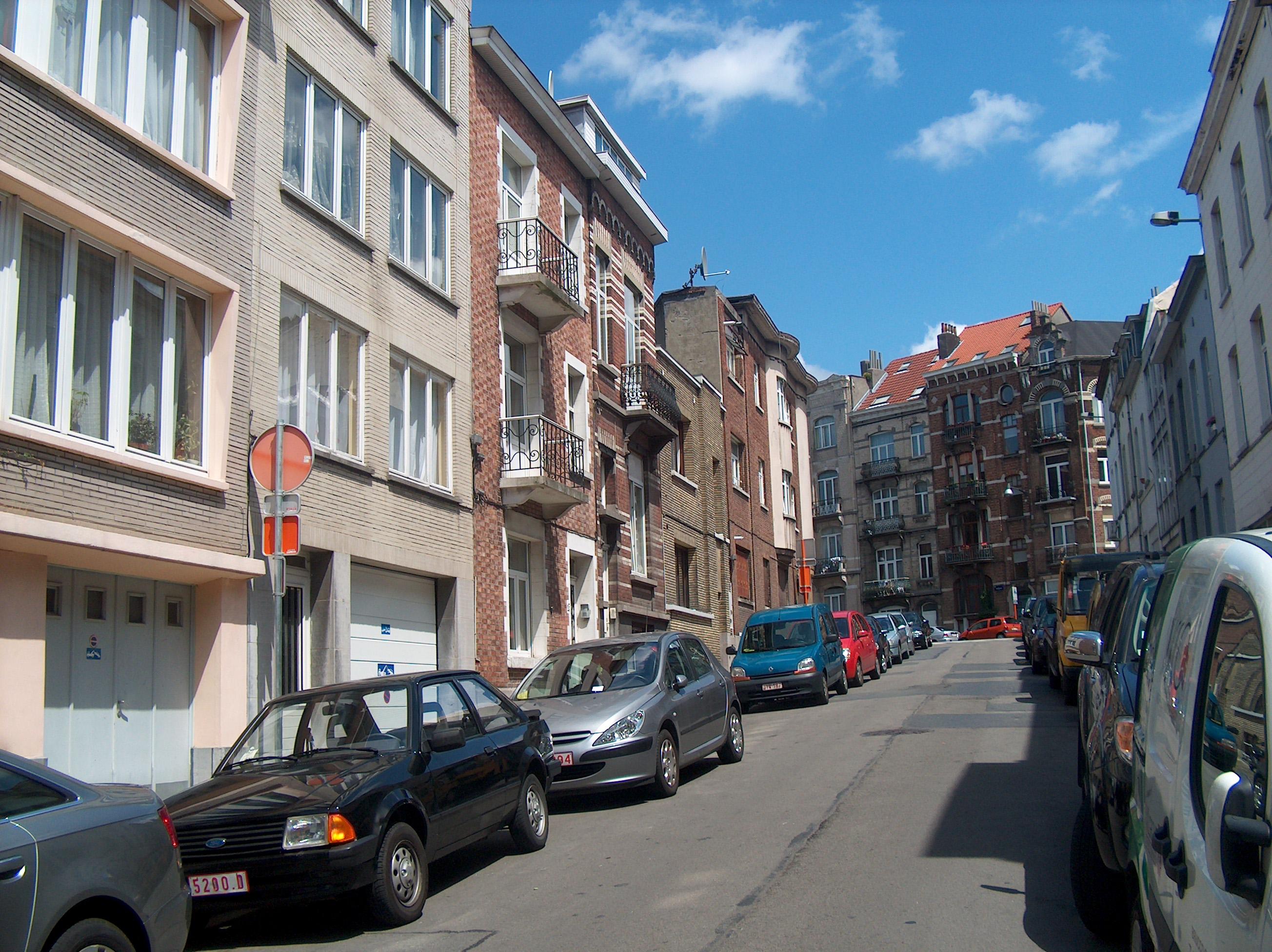 file schaerbeek saint josse ten noode rue de la cible 01. Black Bedroom Furniture Sets. Home Design Ideas