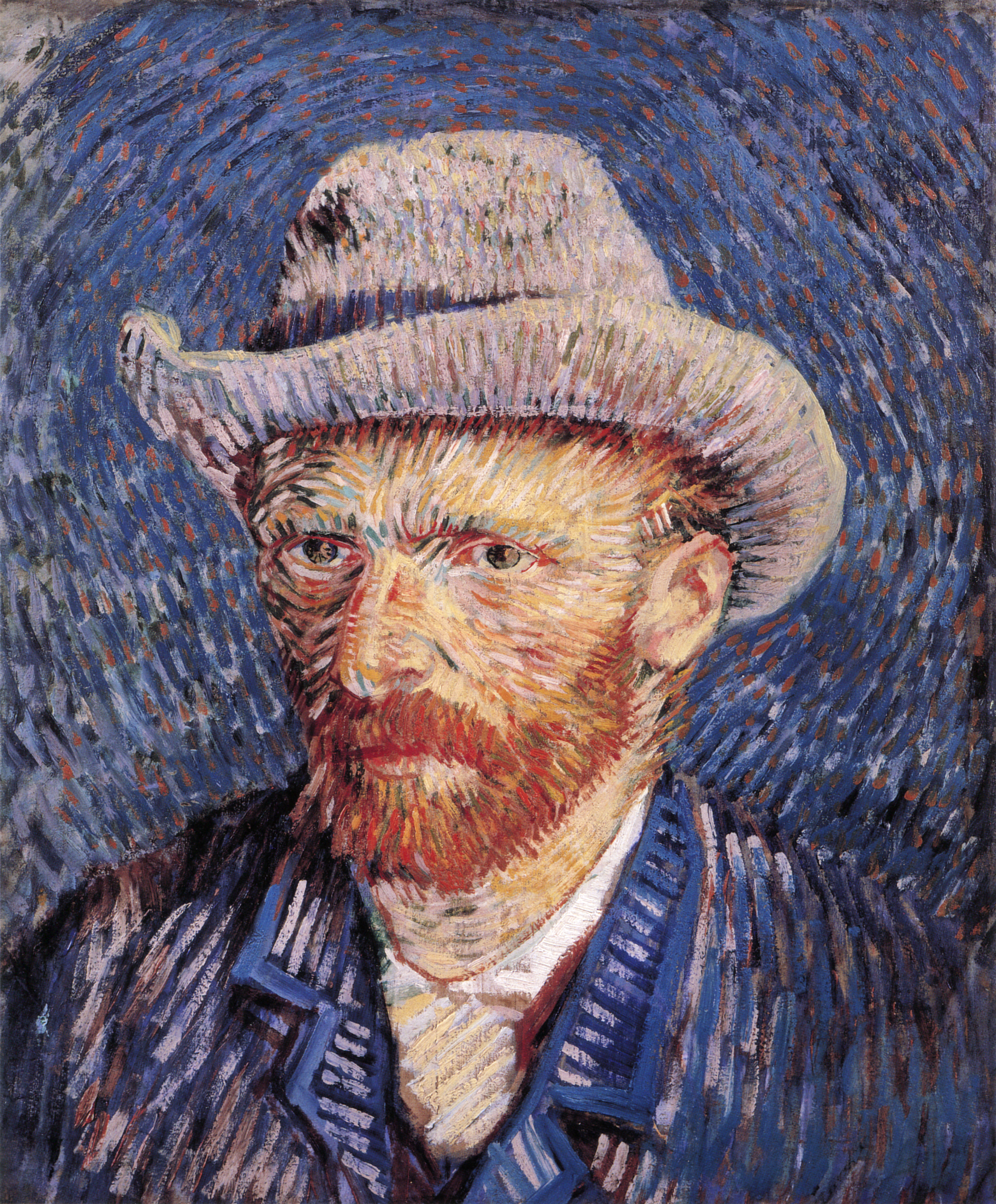 http://upload.wikimedia.org/wikipedia/commons/8/8e/Self-portrait_with_Felt_Hat_by_Vincent_van_Gogh.jpg