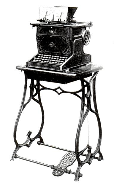 Sholes_Glidden_typewriter