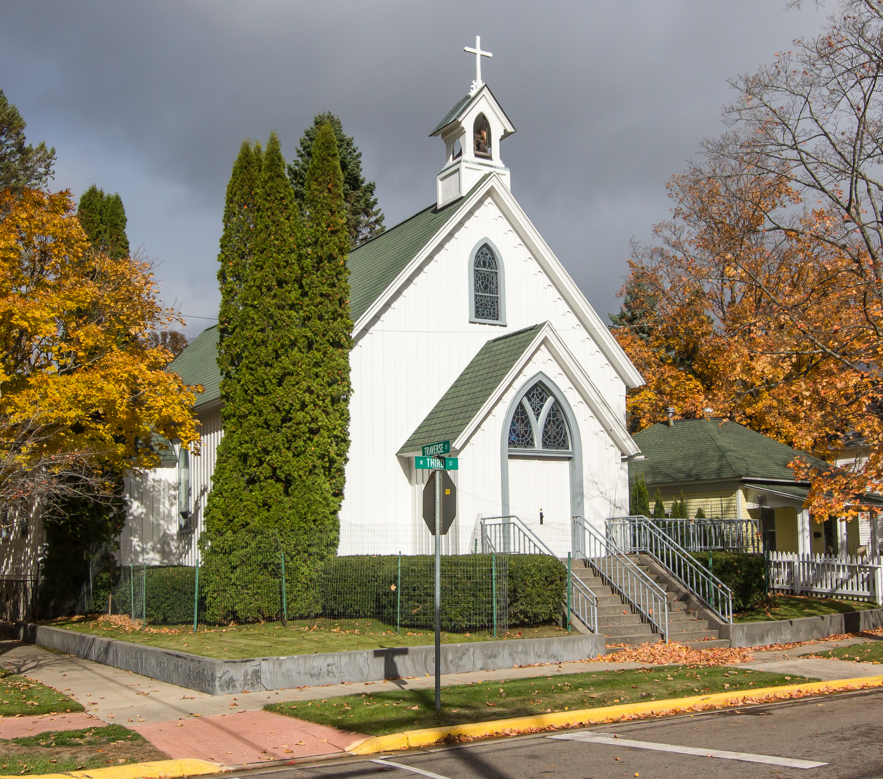 File St Johns Church Harbor Springs Jpg Wikimedia Commons