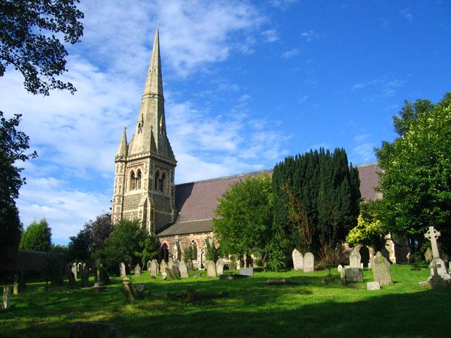 St John The Divine Horninglow Wikipedia