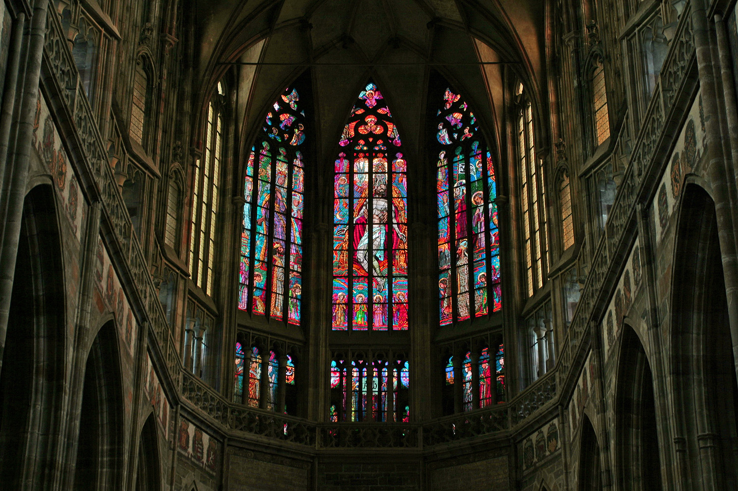 FileSt Vitus Stained Glass