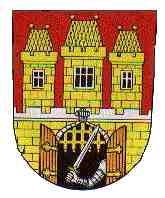 The coat of arms of Prague (1649).[1]