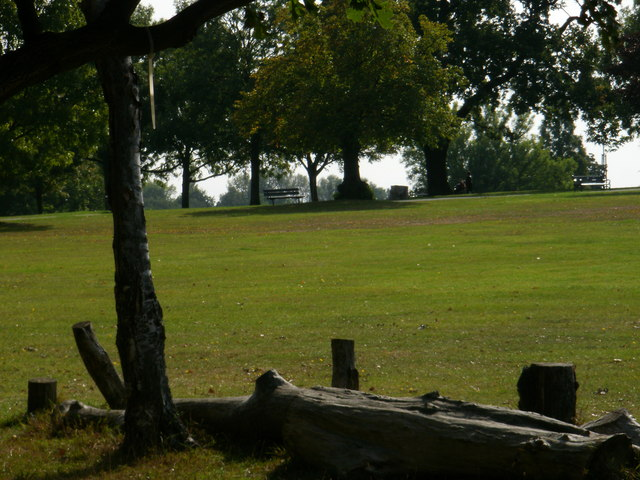 Sunny afternoon in Brockwell Park - geograph.org.uk - 1550874