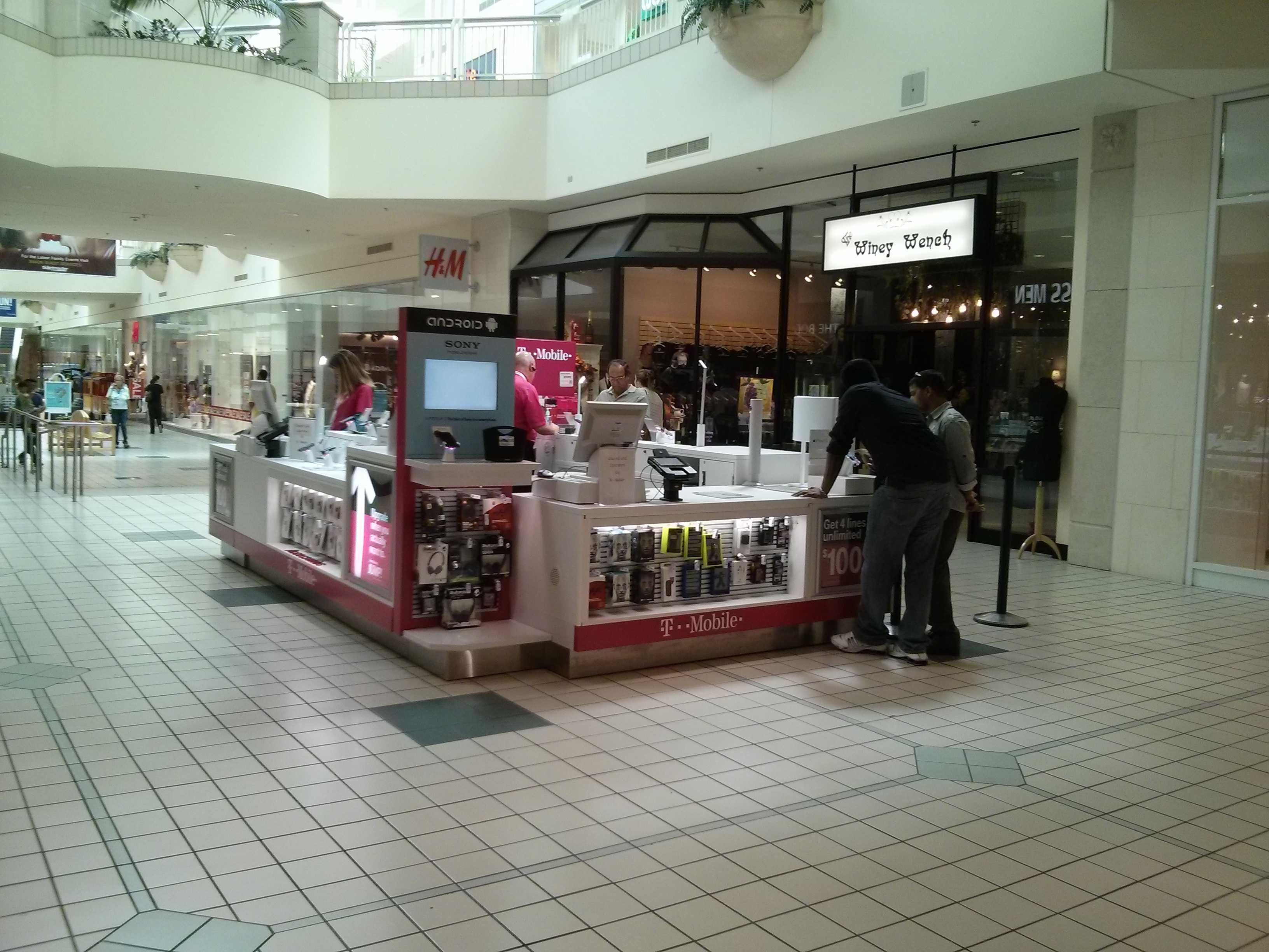 T Mobile Kiosk Fashion Place Mall