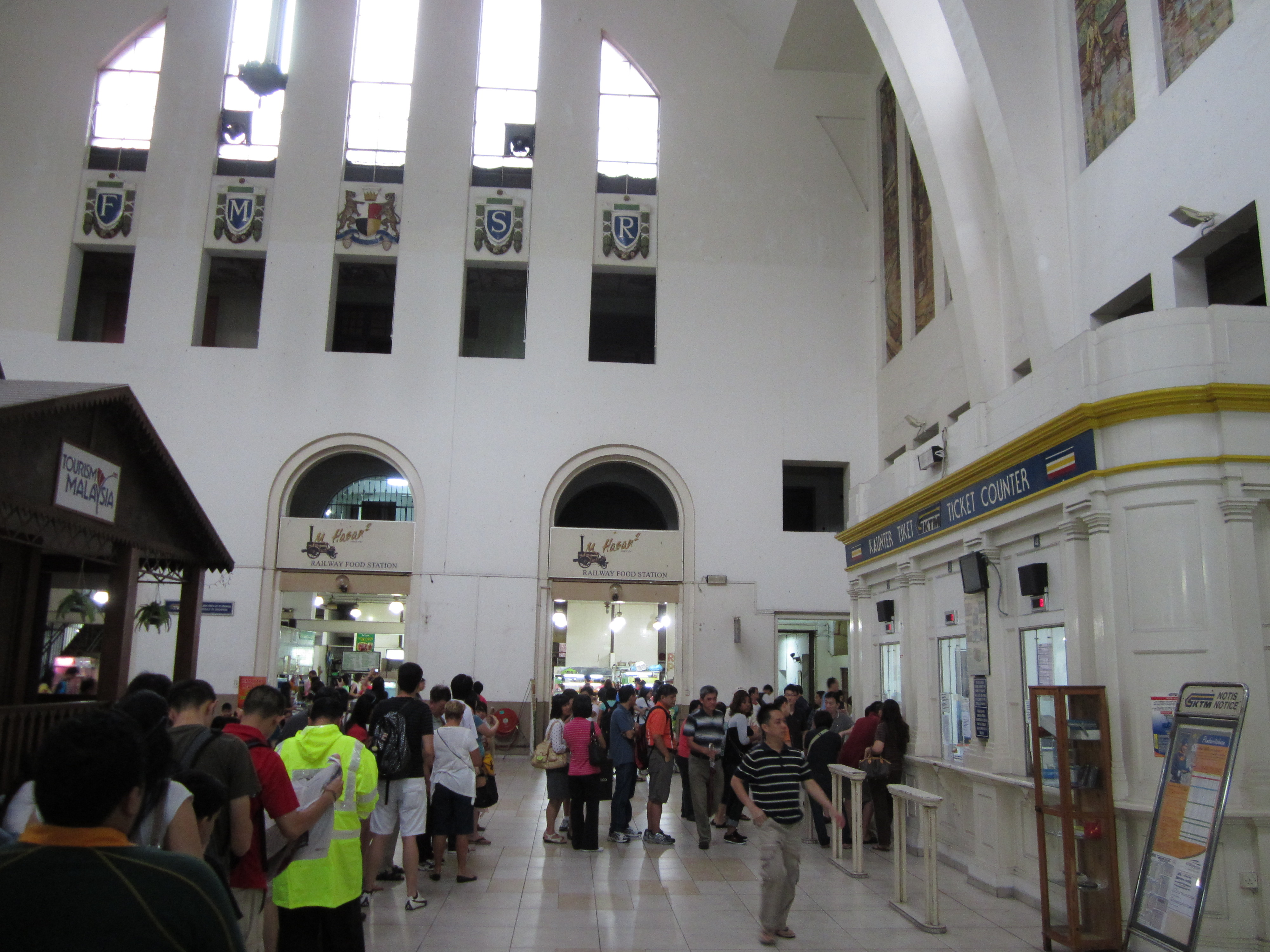 All aboard: riding the train from tanjong pagar rail station to johor bahru