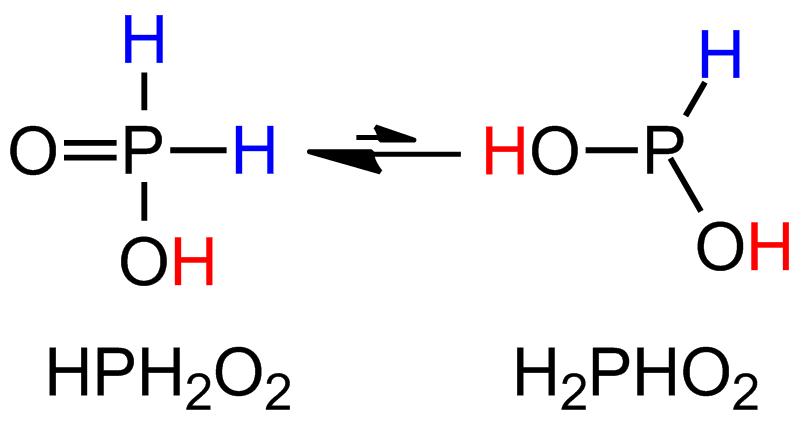 Znalezione obrazy dla zapytania H3Po2