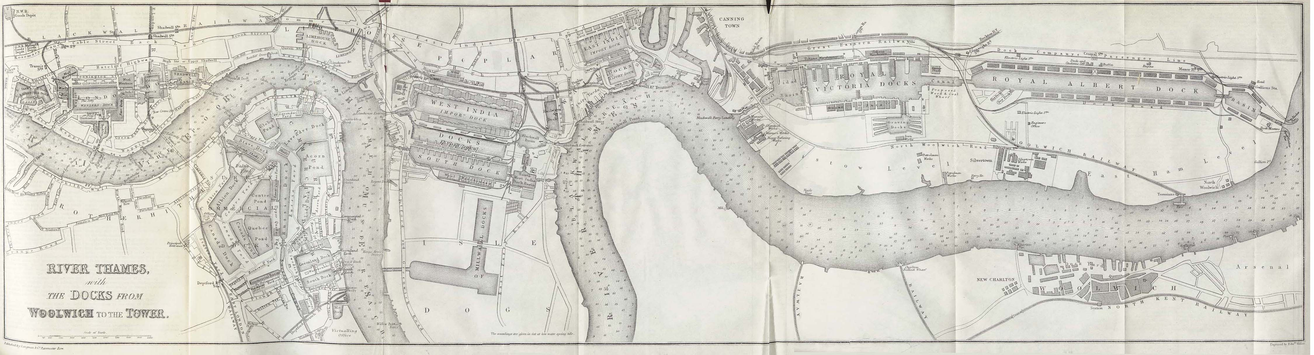 London 1600 Map.File Thames River 1882 Jpg Wikimedia Commons