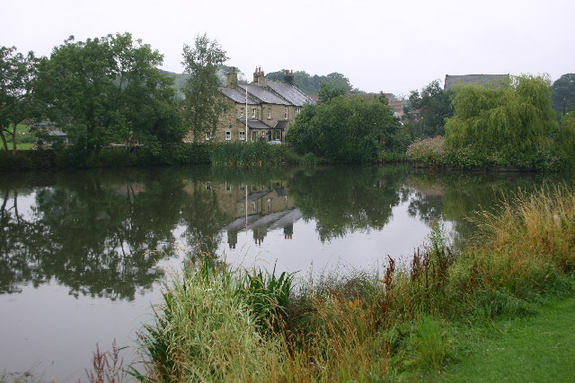 The Duck Pond, Grewelthorpe - geograph.org.uk - 77659