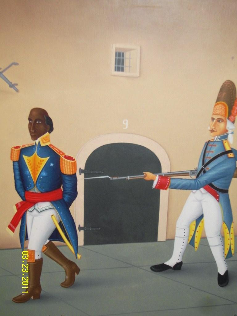 The life and military genius of the black napoleon toussaint louverture