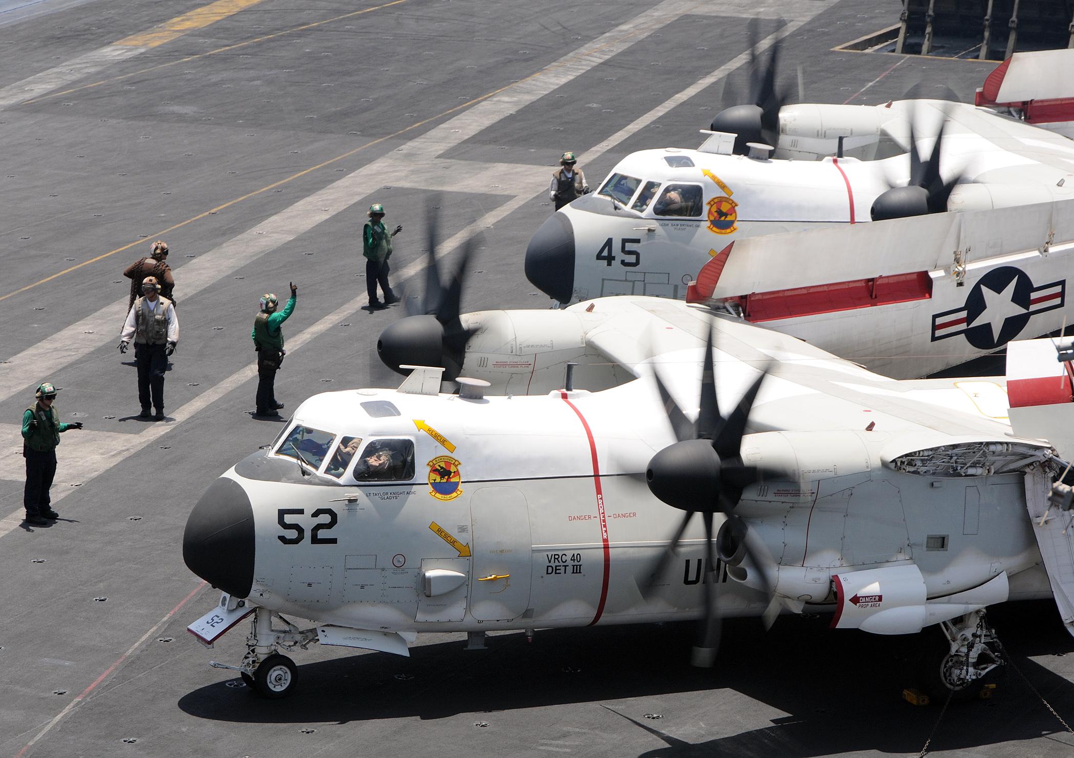 C 2a Greyhound Logistics Aircraft File:US Navy 100511-N-...