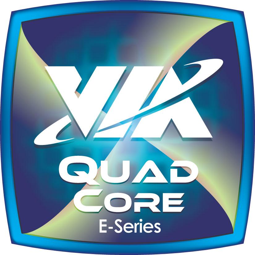 Quad Core Logo File:via Quadcore E-series