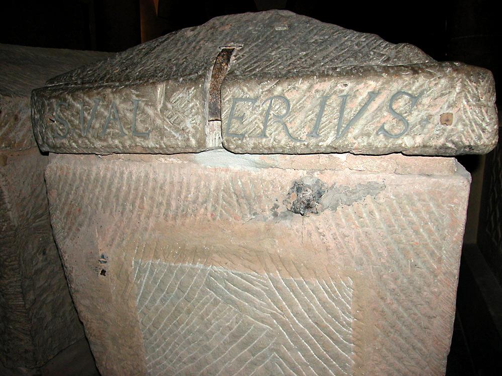 Саркофаг св. Валерия Трирского. Изображение: Википедия, автор: Алексей Потупин
