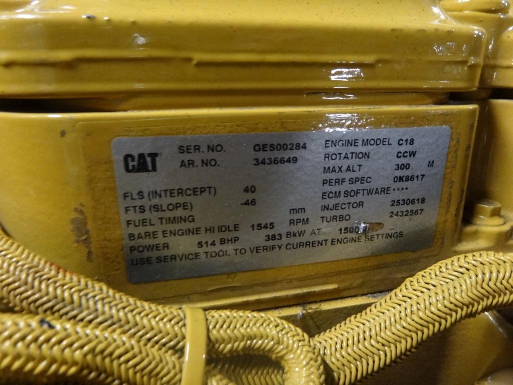 File:Viking Odin (ship, 2012) Typschild Caterpillar C18 JPG