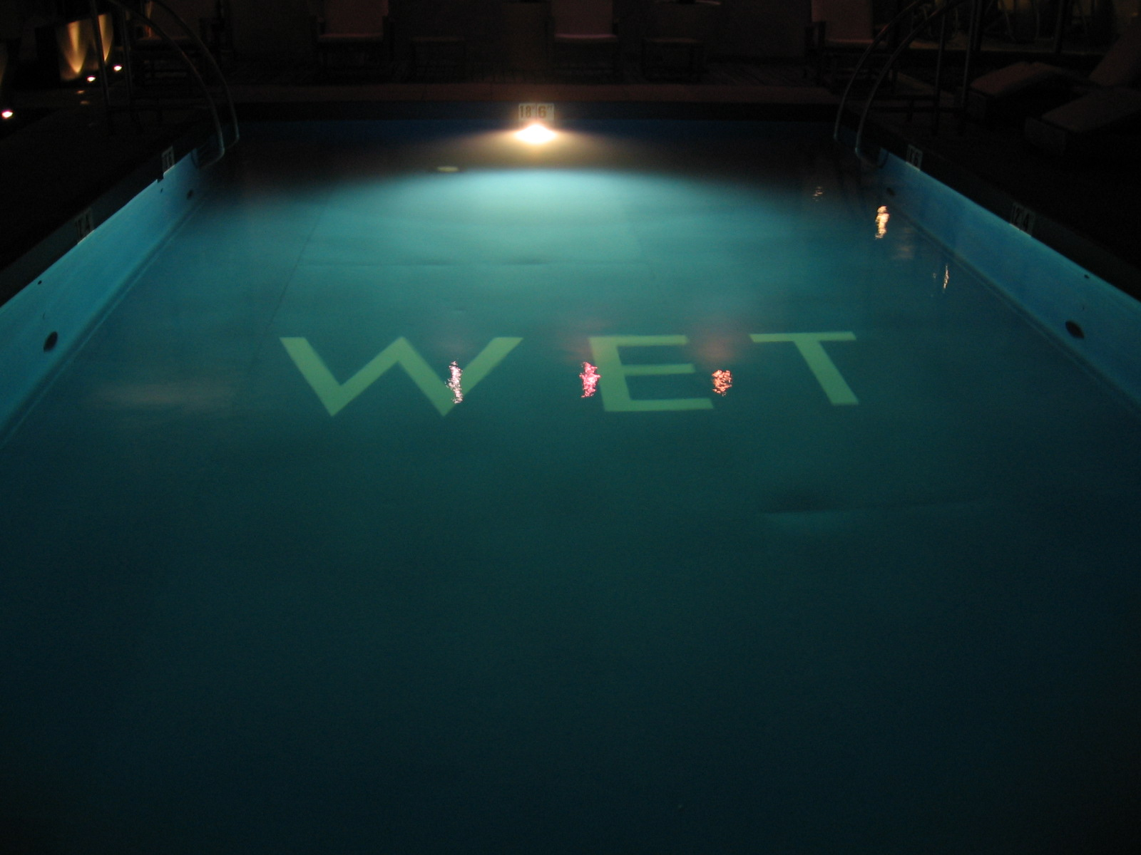 W hotel swimming pool
