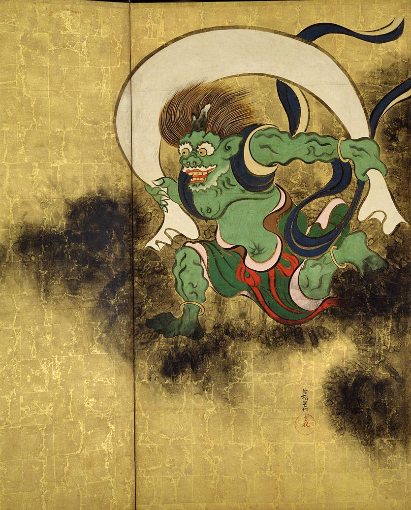 Ogata Korin, Wind God2.jpg