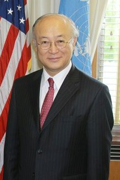 Director General Yukiya Amano of the Internati...