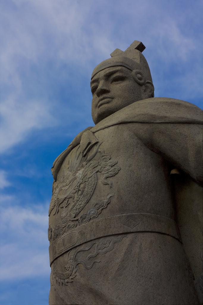Depiction of Zheng He