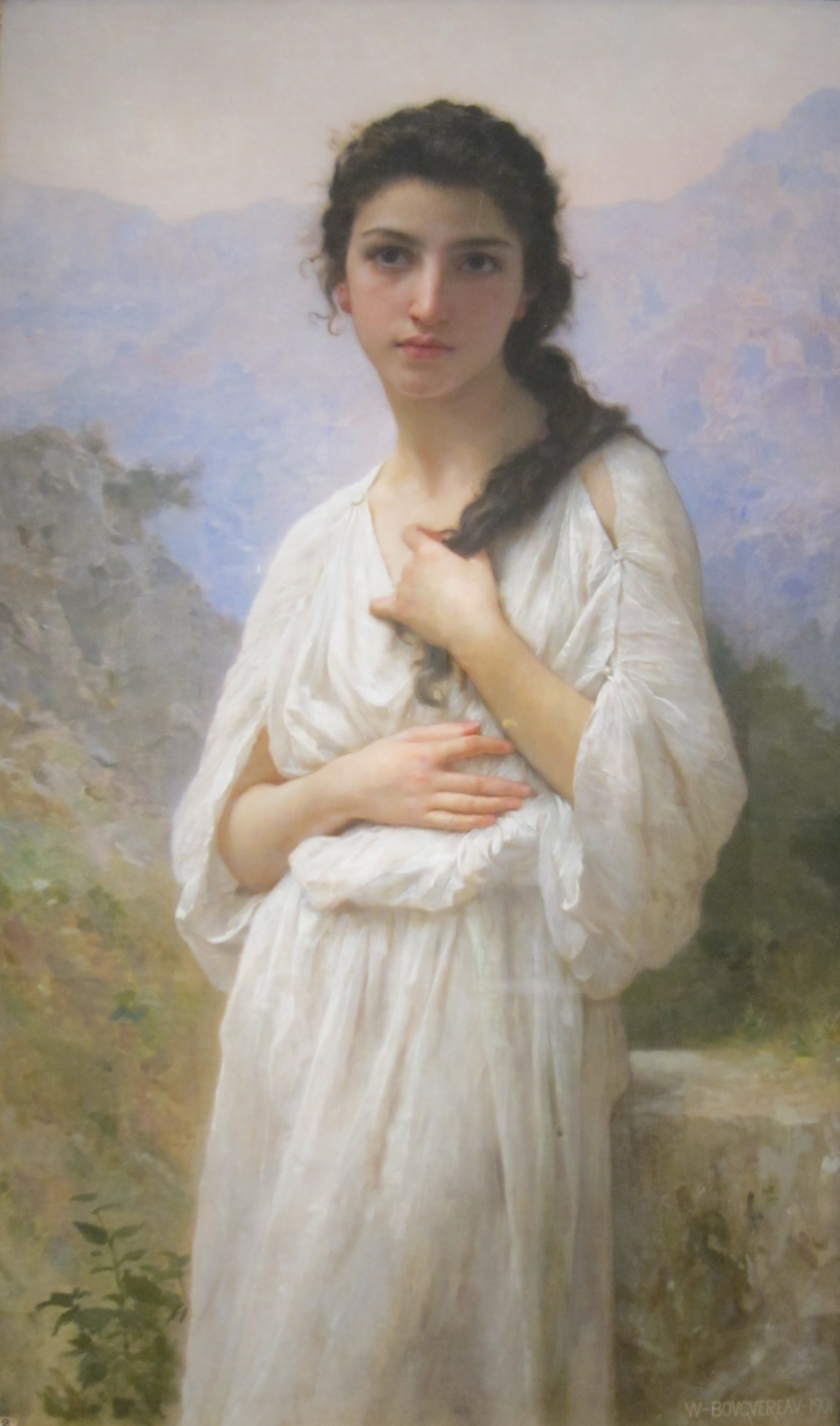 the life and works of william adolphe bouguereau a french painter William-adolphe bouguereau (november 30, 1825 - august 19, 1905) was a french academic painter and traditionalist in his realistic genre paintings he used.