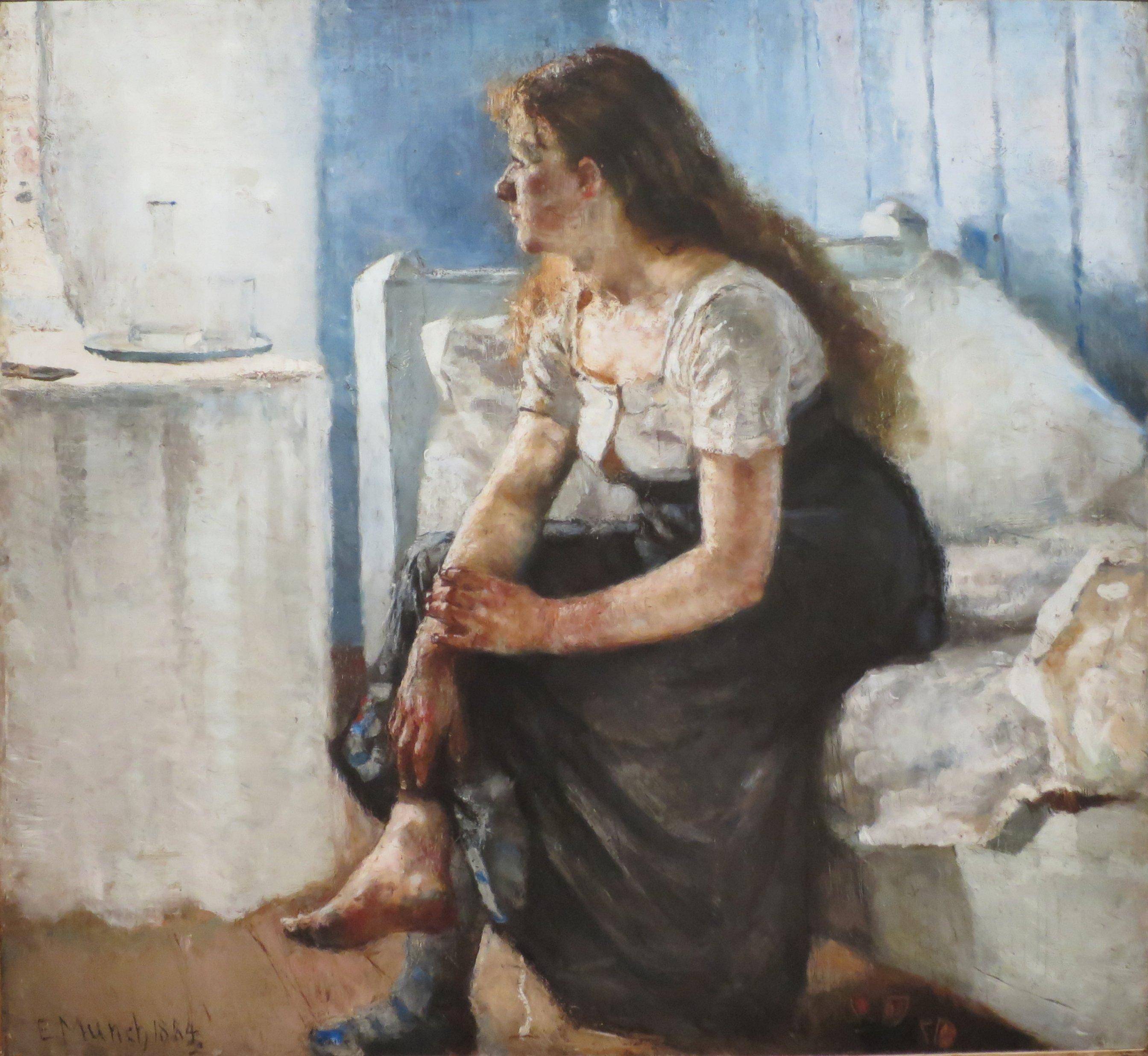 Morning By Edvard Munch C C Bergen Kunstmuseum