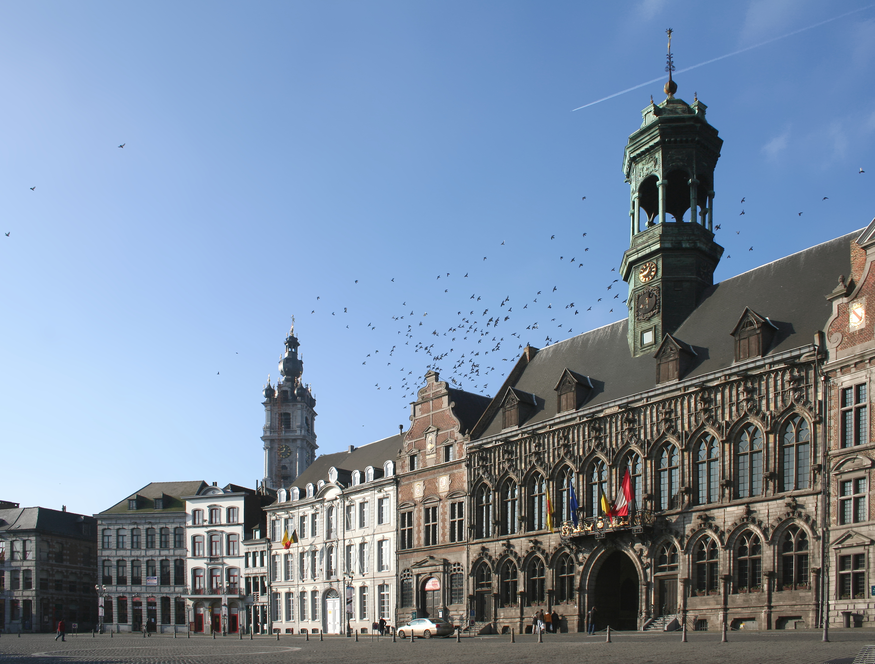 Mons / Bergen Belgium  city photos : 070204 90 Mons Wikimedia Commons