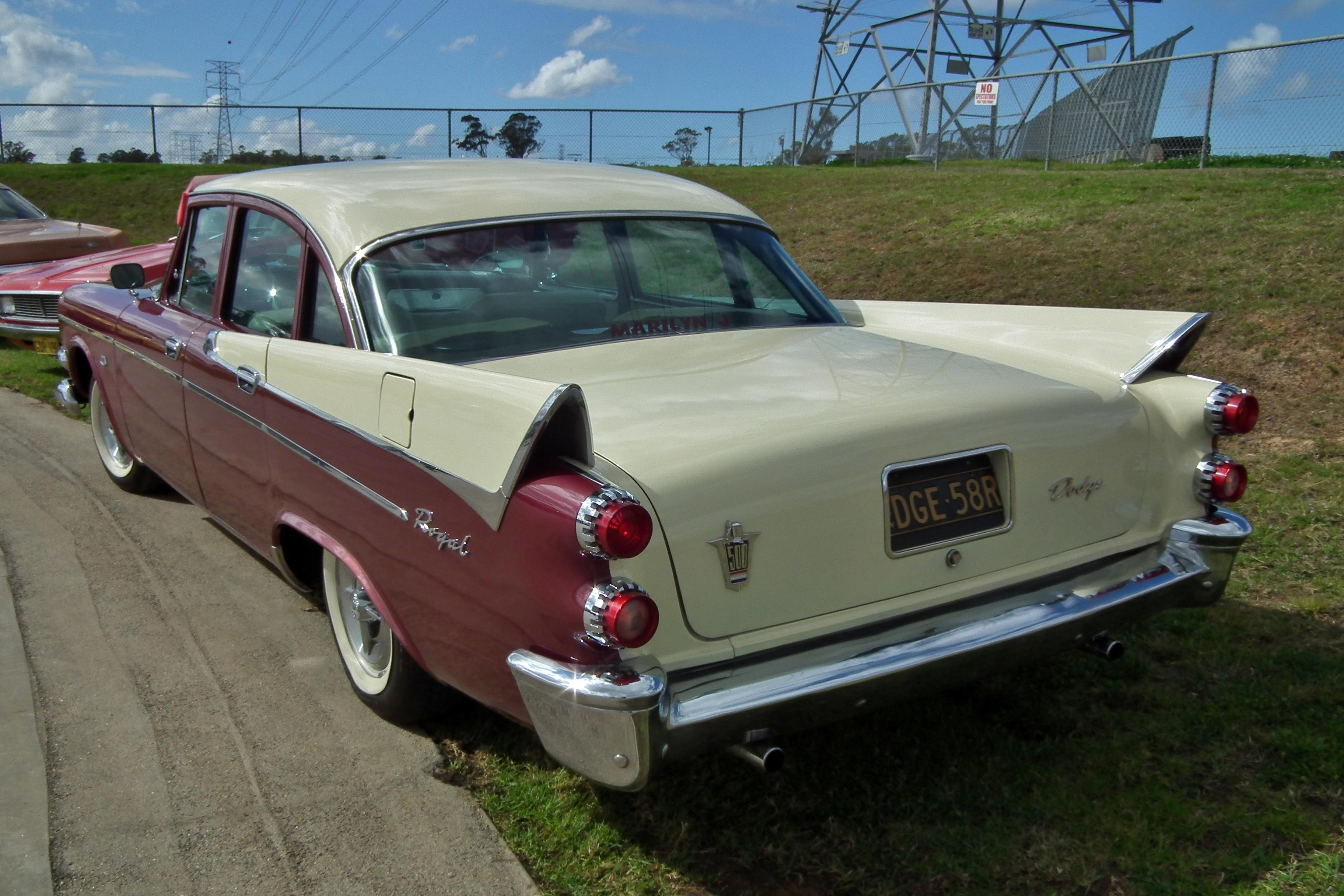 1958 Dodge Wikipedia Autos Post