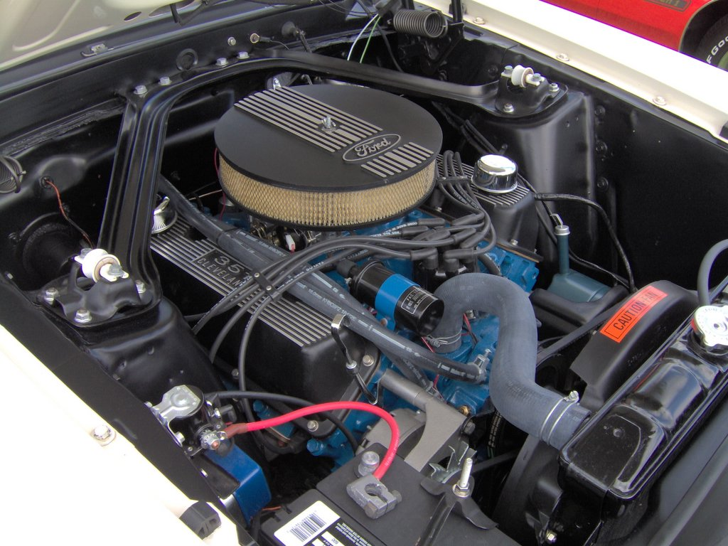 1969_Ford_Mustang_351_Cleveland ford 335 engine wikipedia