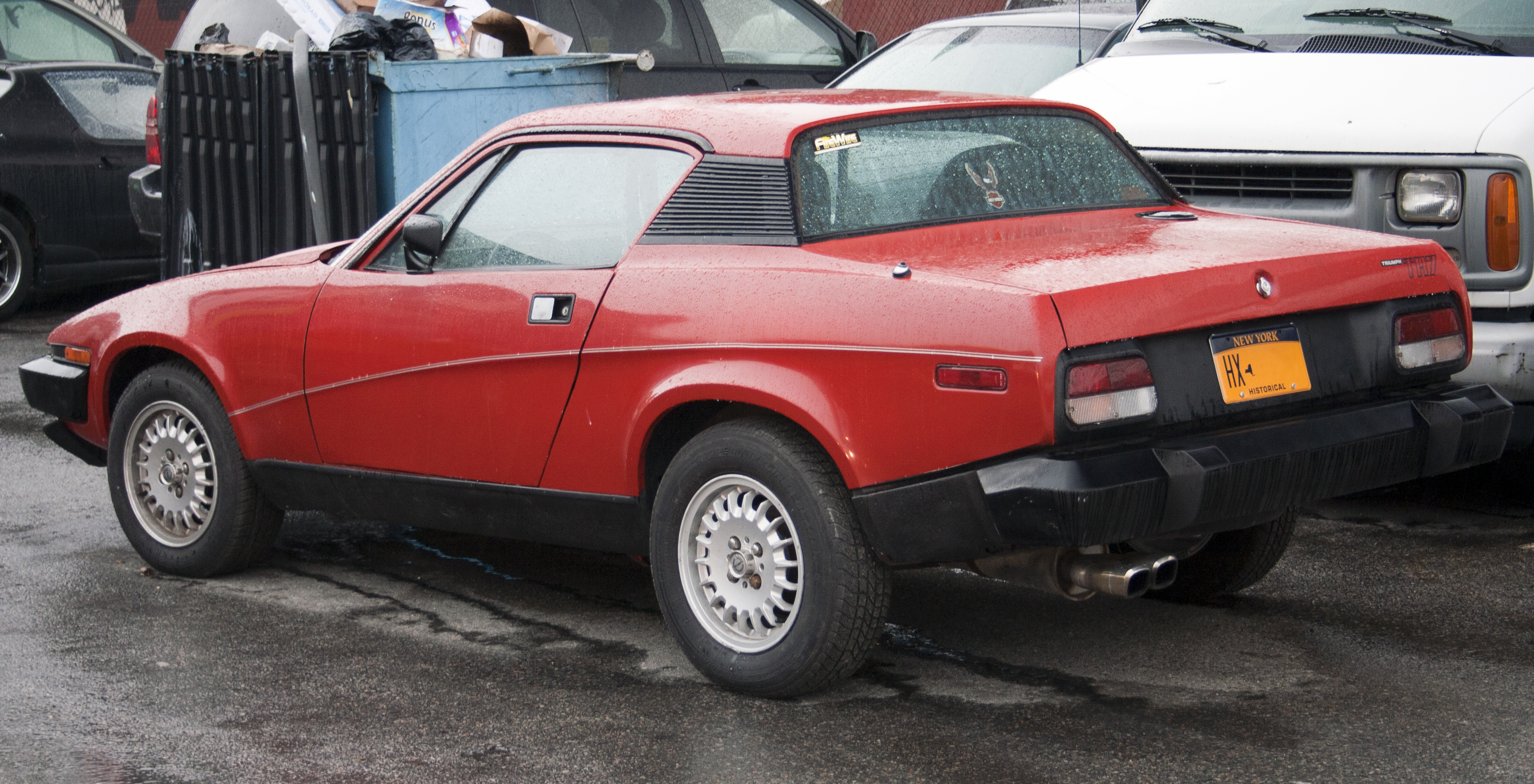 File1977 Triumph Tr7 In The Bronxjpg Wikimedia Commons