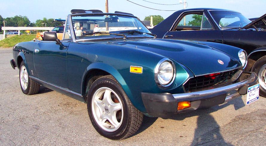 1979 fiat convertible