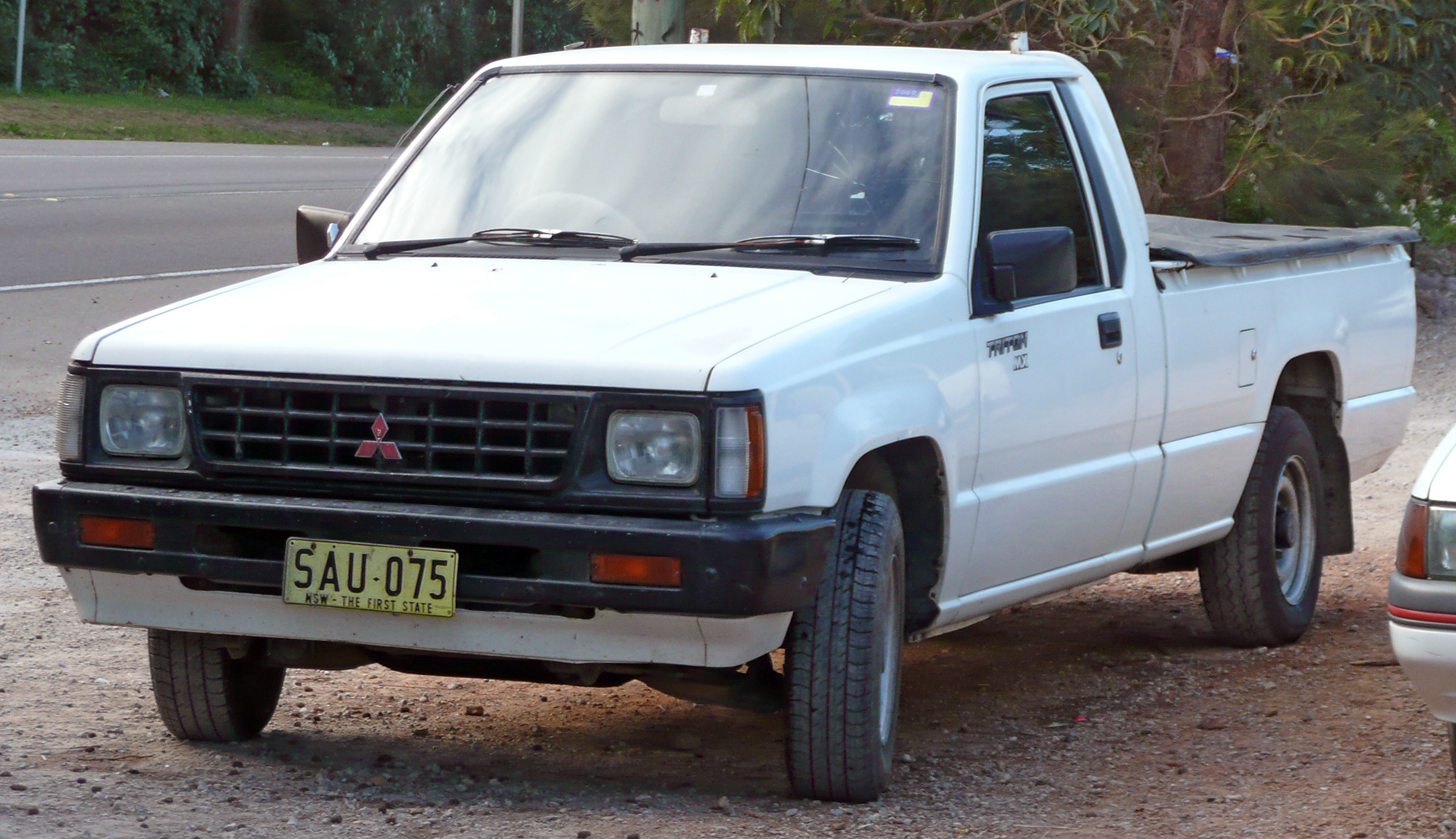 1991 mitsubishi triton mh mx 2 6 2wd 2 door utility. Black Bedroom Furniture Sets. Home Design Ideas