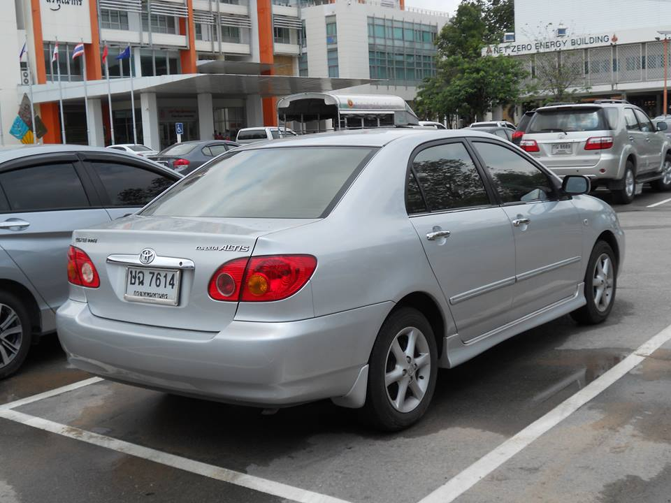 File 2001 Toyota Corolla Altis 1 6e Rear Jpg