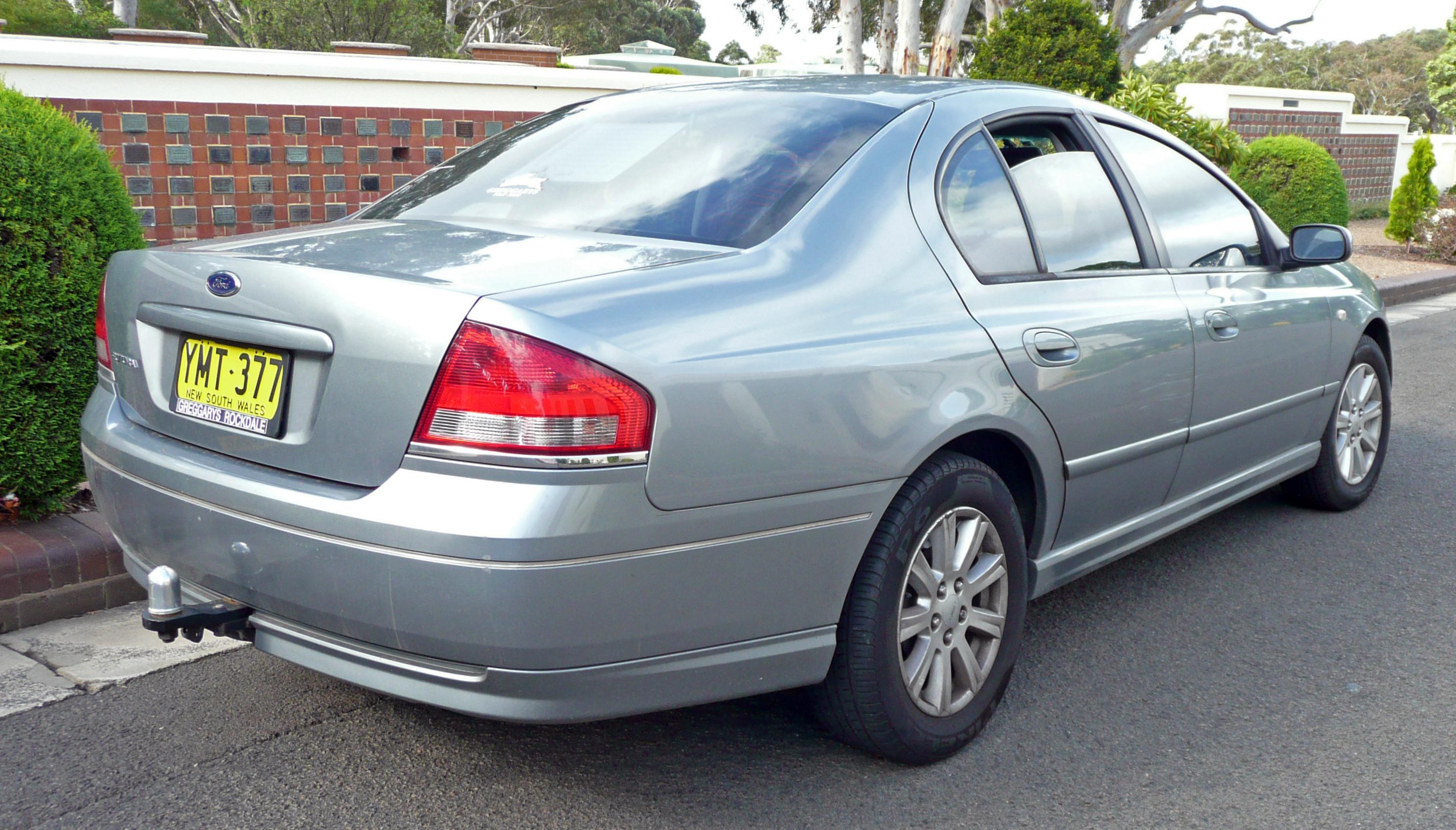 File:2003 Ford Falcon (BA) Futura sedan (2009-12-04