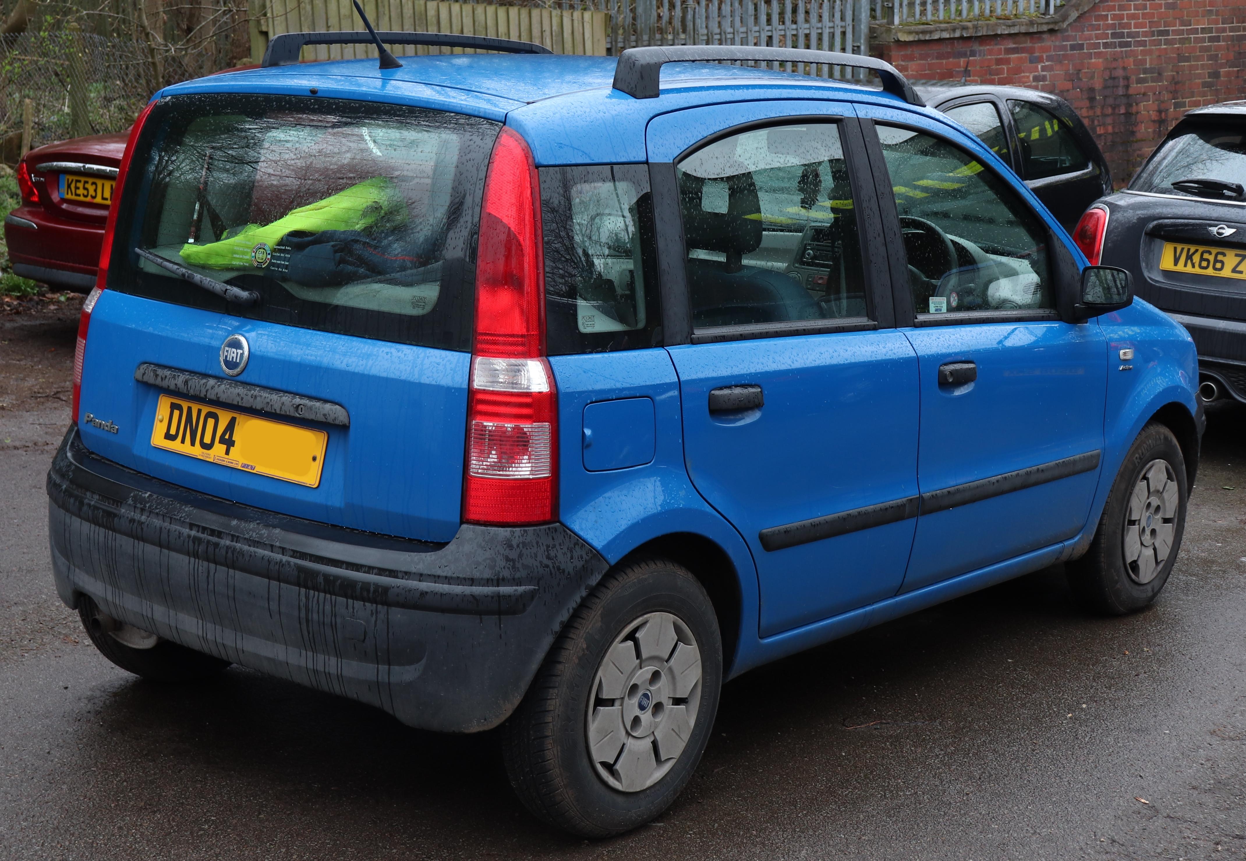 File 2004 Fiat Panda Active 1 1 Rear Jpg Wikimedia Commons