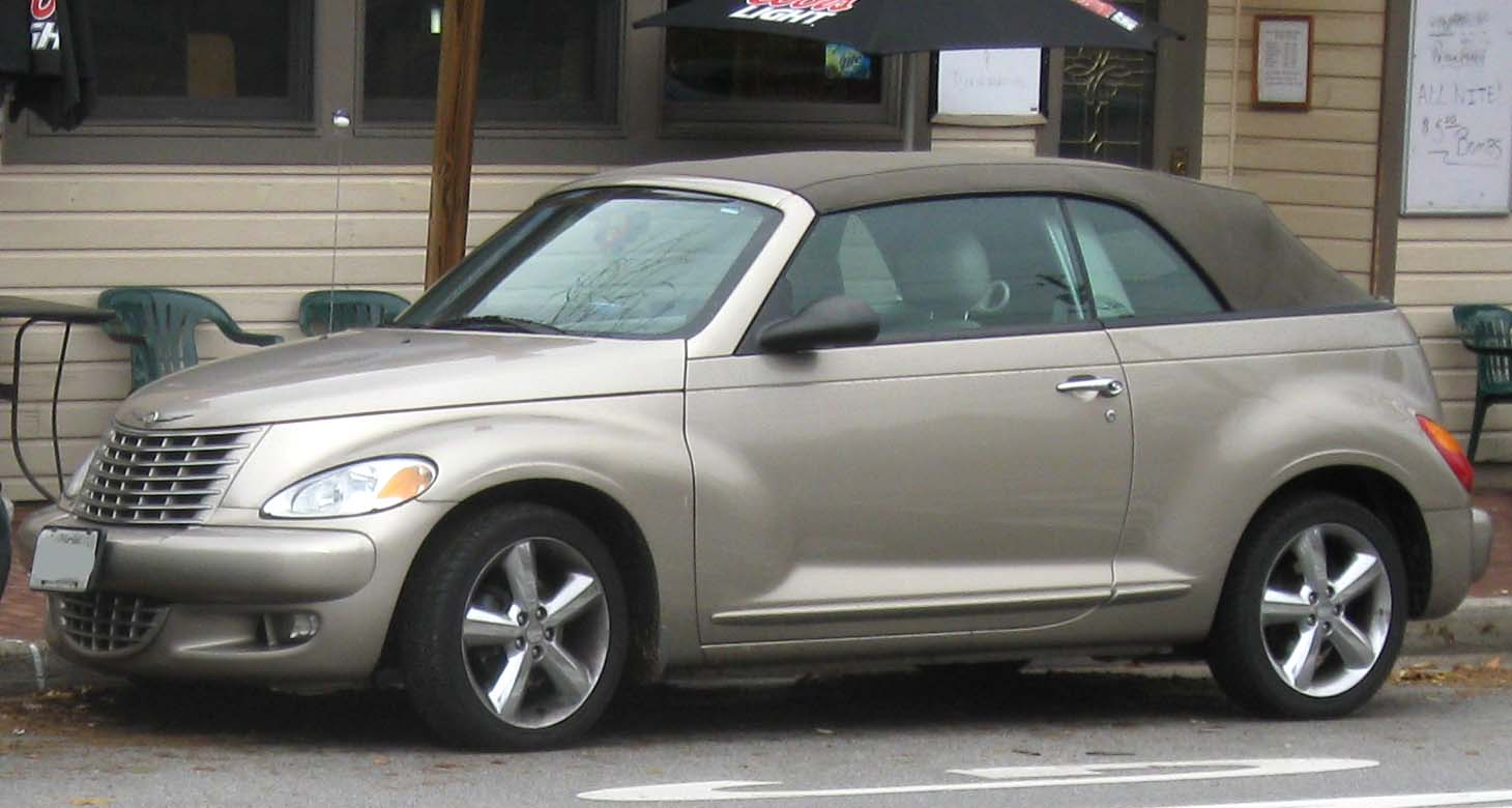 File 2005 Chrysler Pt Cruiser Gt Convertible 11 13 2009 Jpg