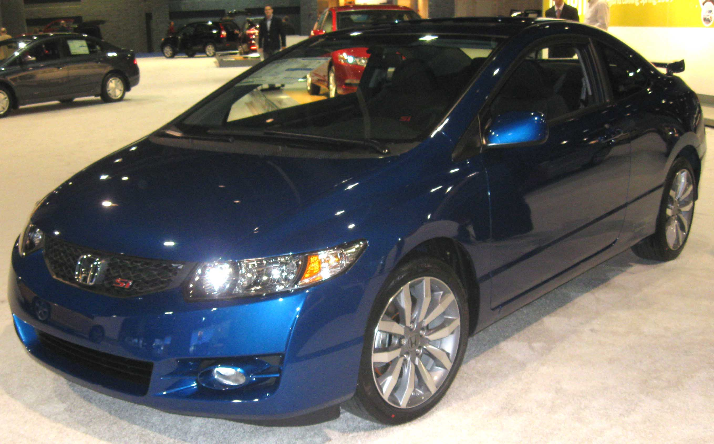 Lovely File:2009 Honda Civic Si Coupe  DC