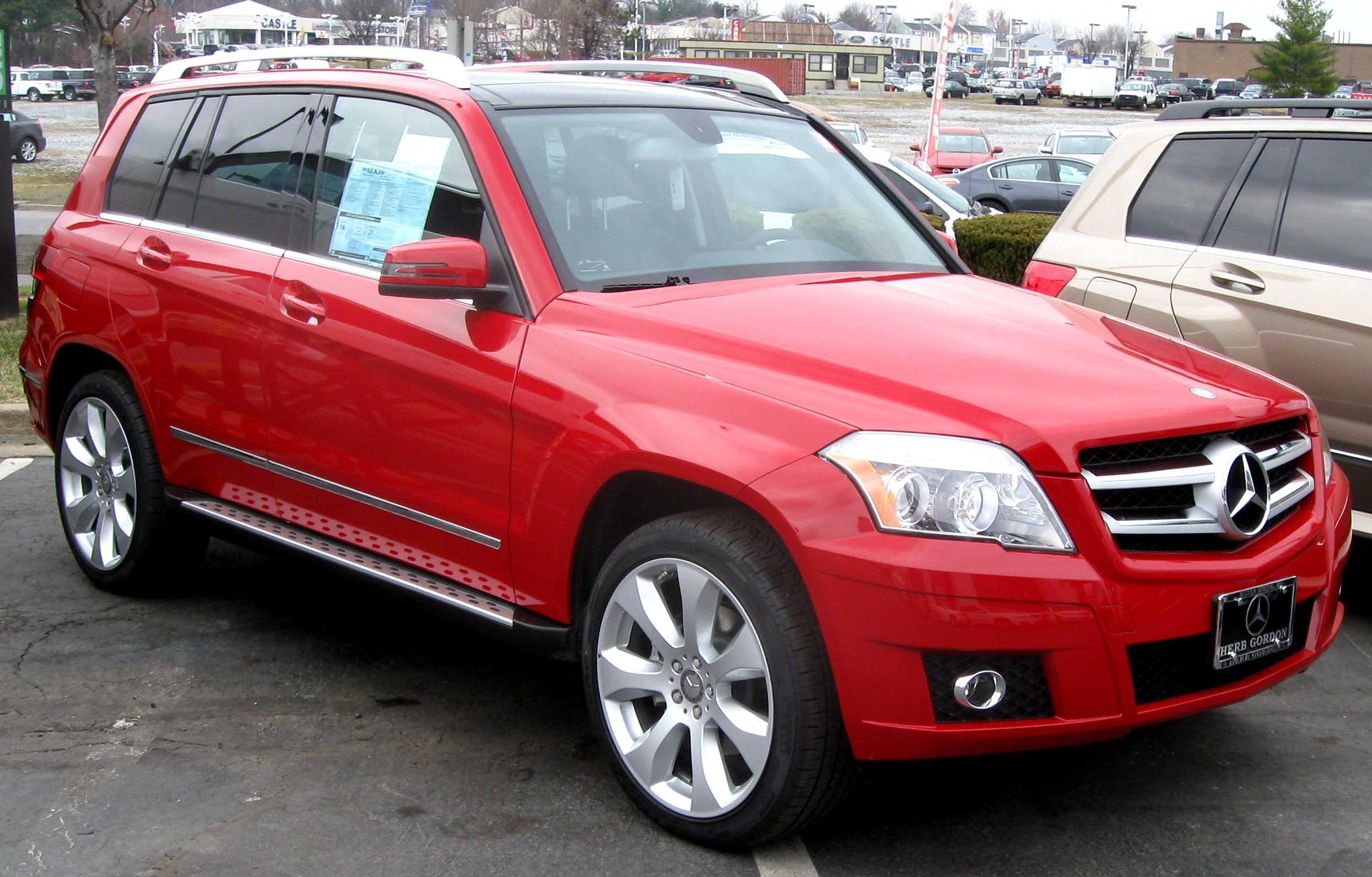 Mercedes benz glk350 2010