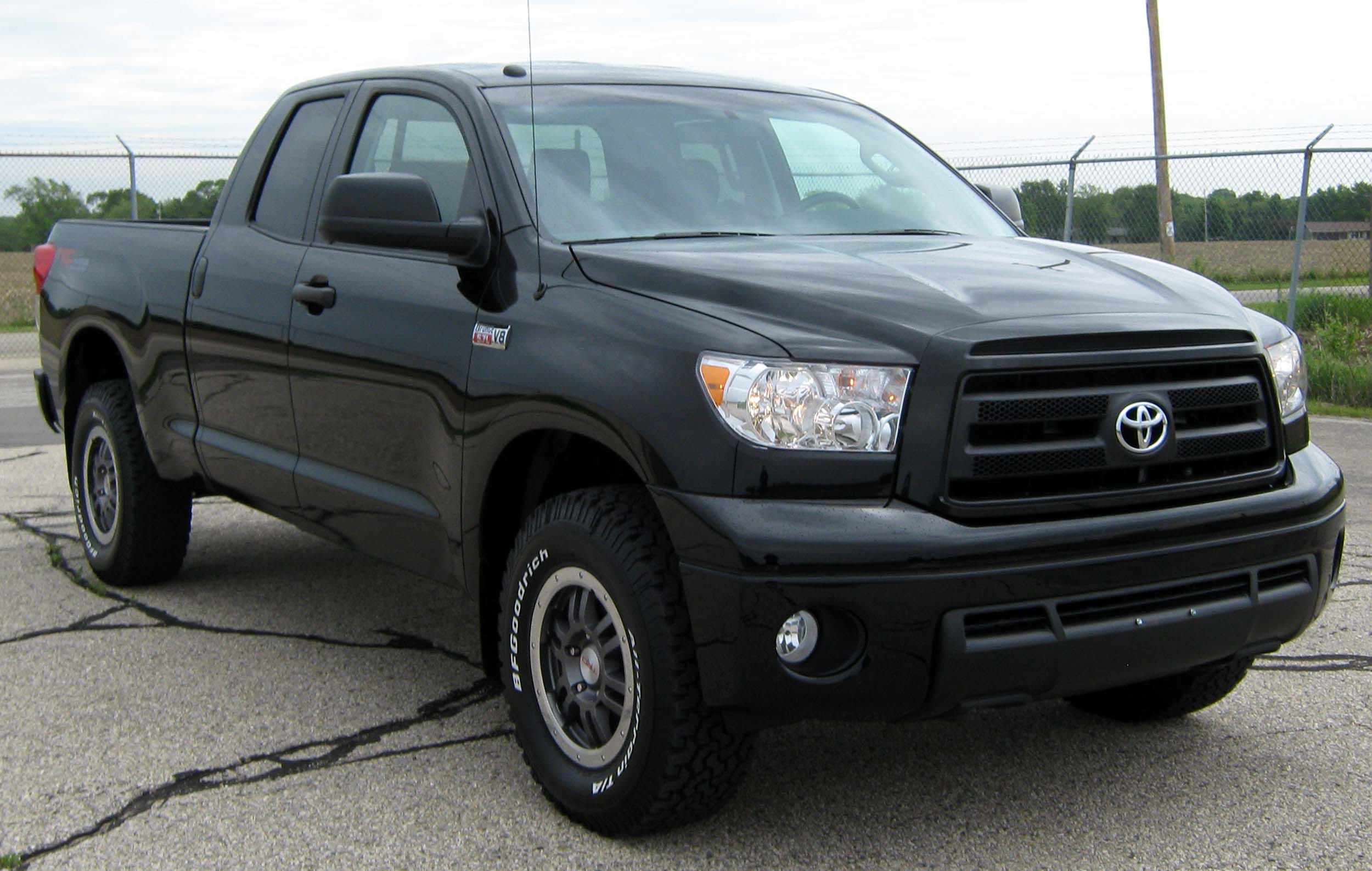 2013 Toyota Tundra Trd Rock Warrior Double Cab 4x4 Black Black Photo ...