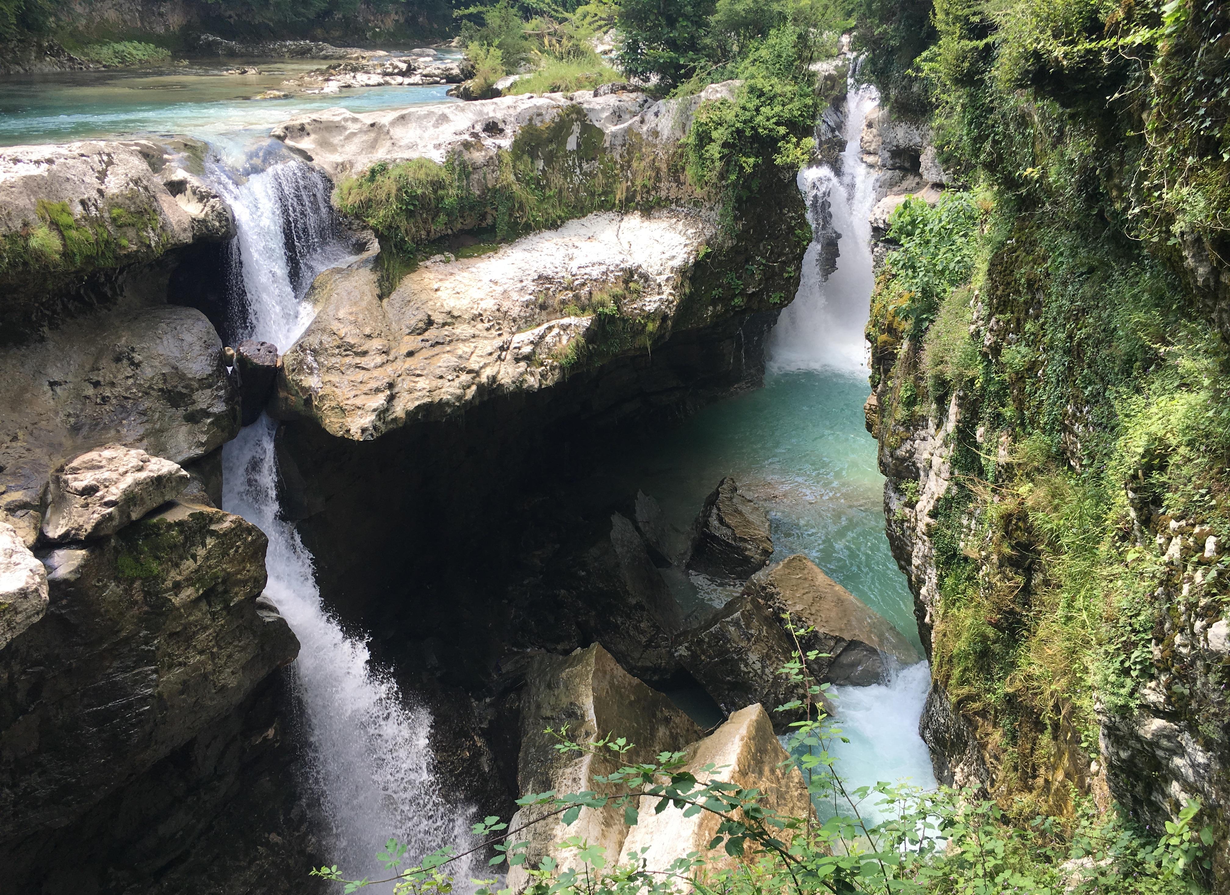 Three Bears Upper Waikani Falls