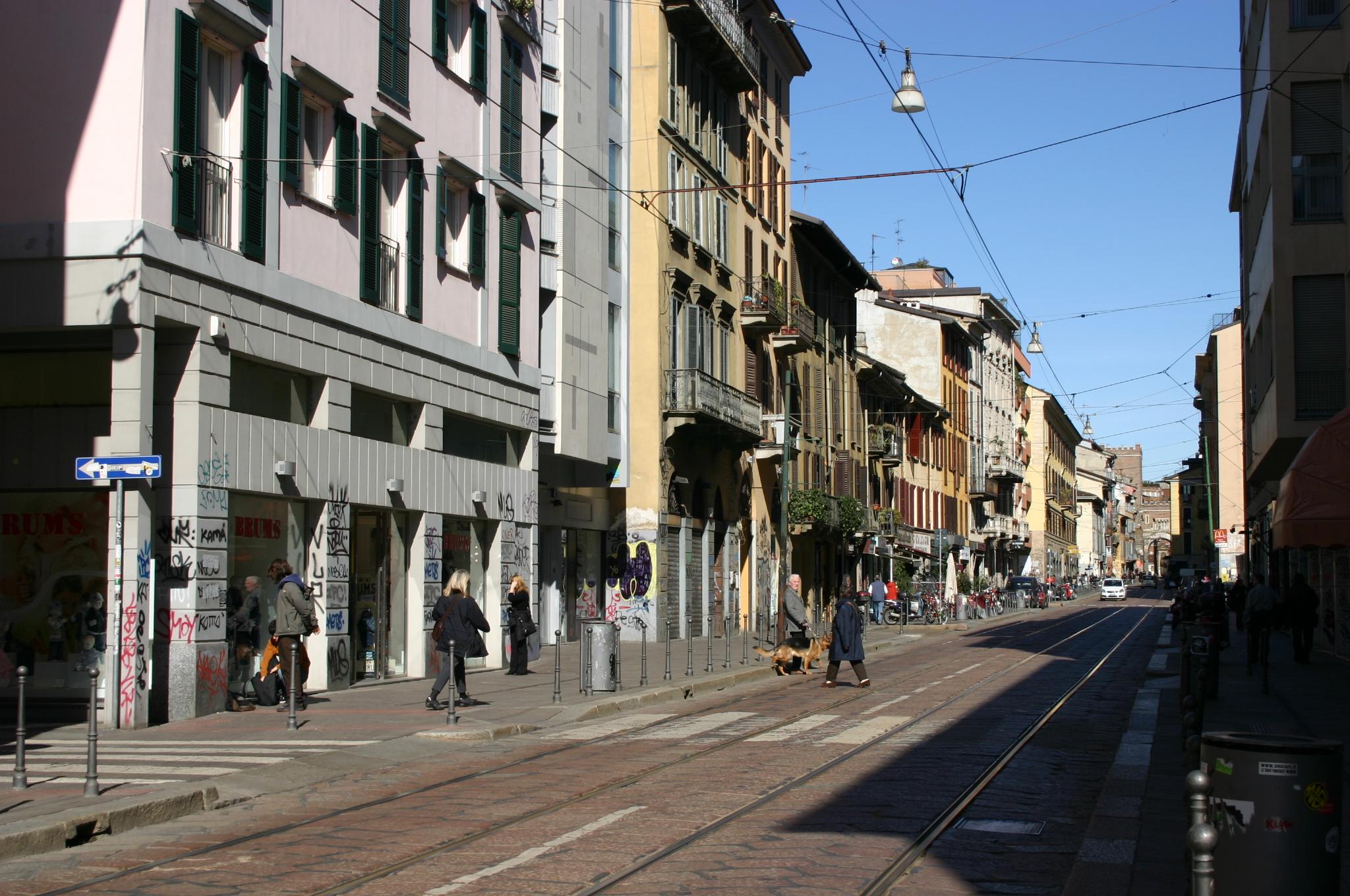 File 5899 milano corso di porta ticinese foto for Corso di porta genova milano