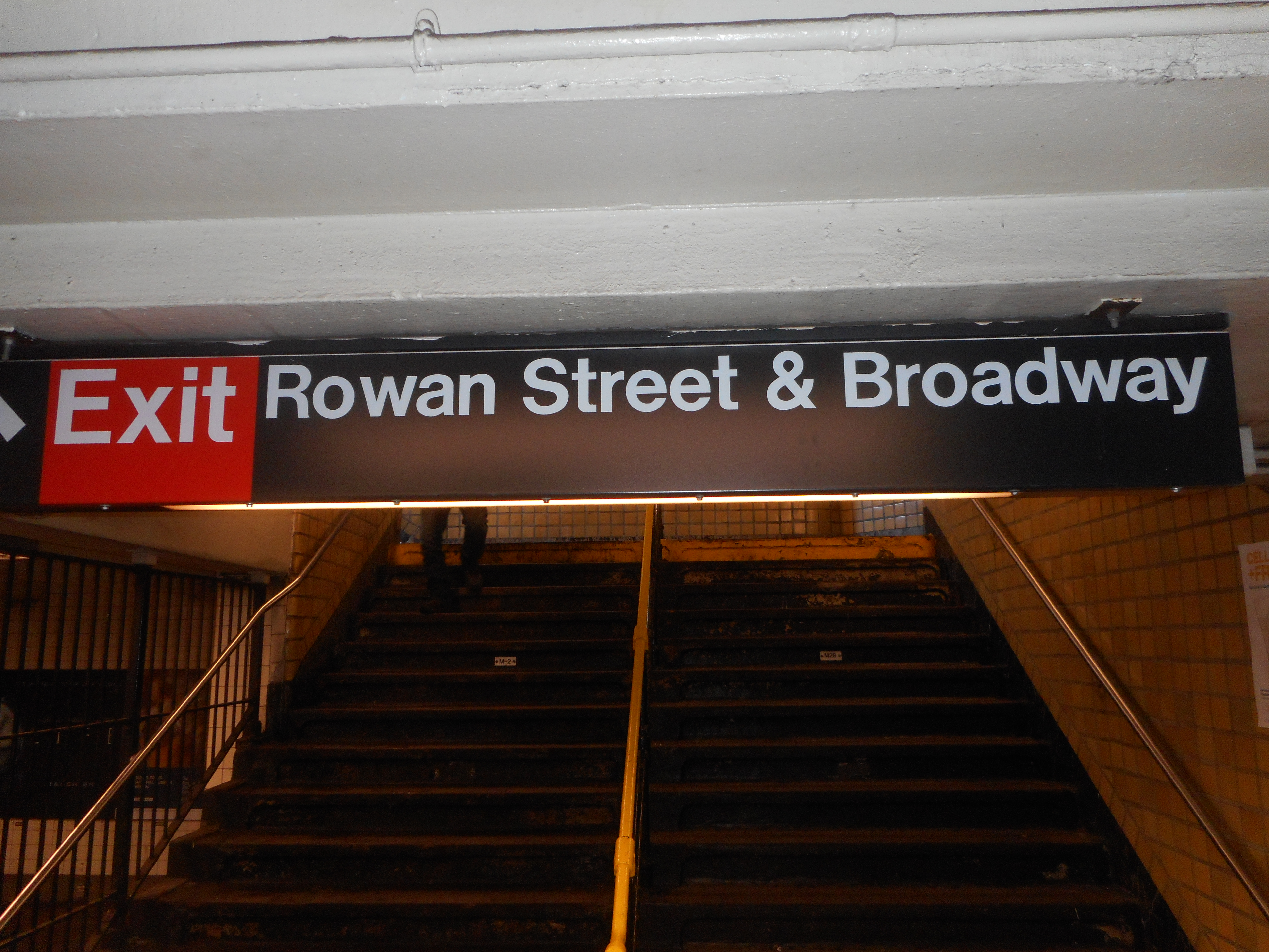 File65th Street IND Queens Rowan BWay Exit
