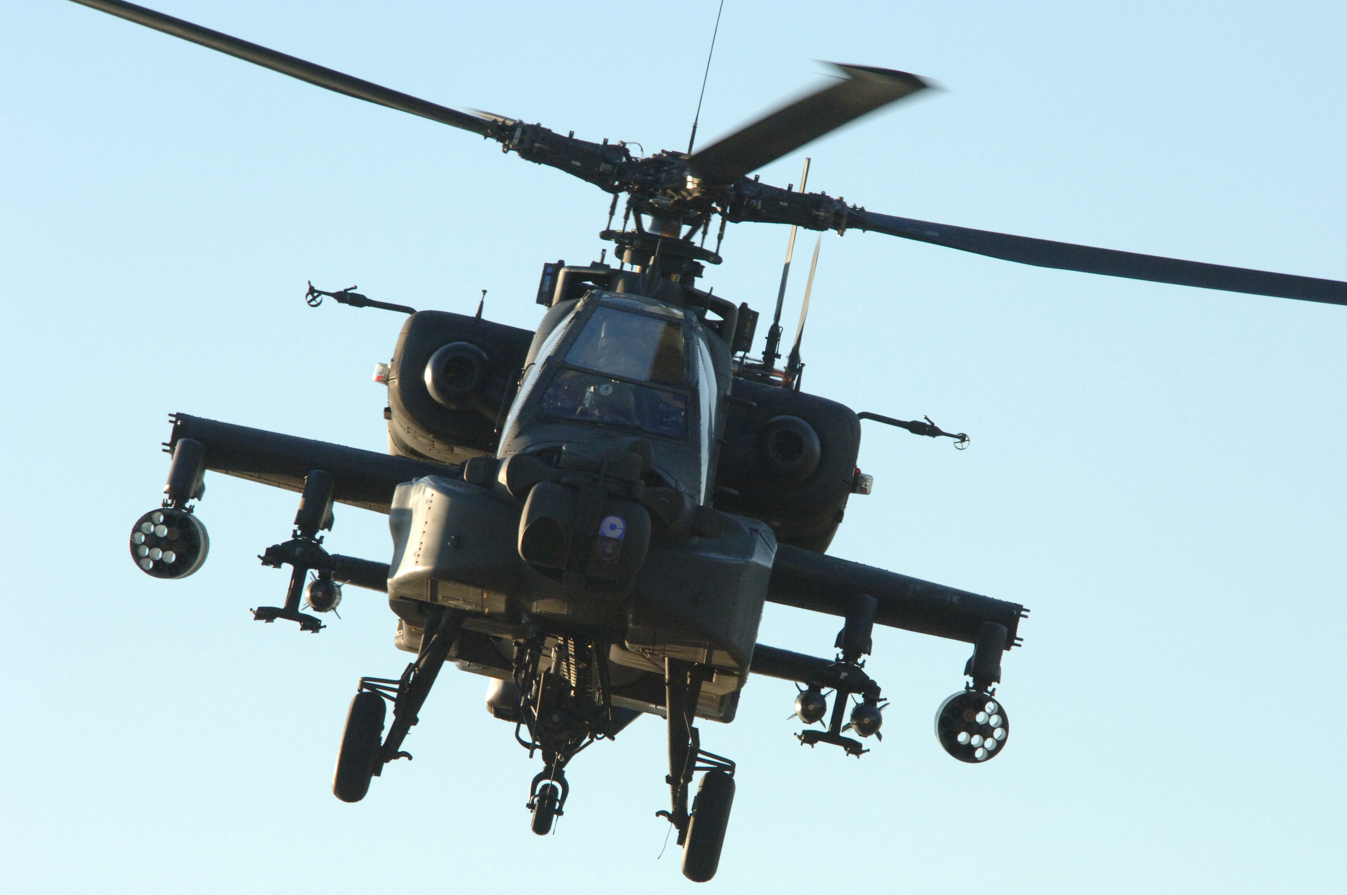 Phun - 2D physics sandbox - forum / Apache attack helicopter