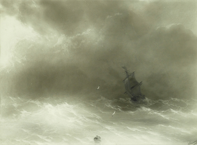 Aivazovsky - Strong Wind