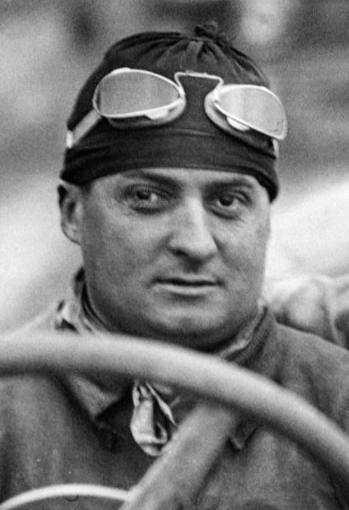 Albert Guyot At The French Grand Prix Cropped