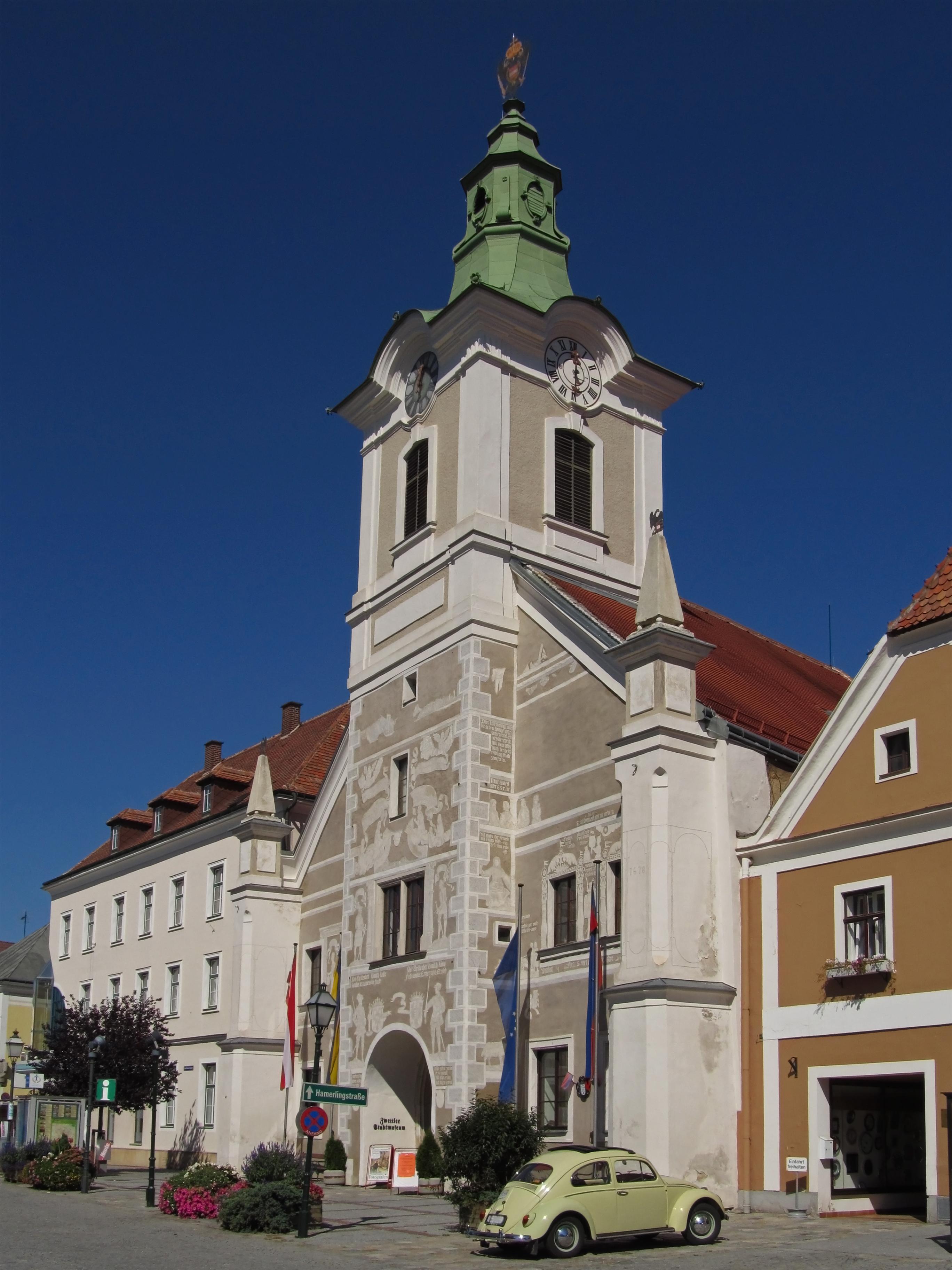 Bildergebnis für zwettl Rathaus